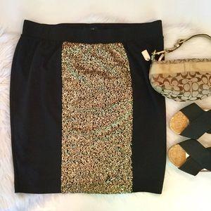 Torrid Sequin Front Pencil Skirt, 2X
